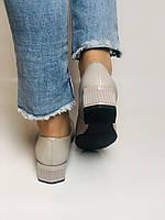 Molka. Жіночі туфлі -лофери з натуральної шкіри. Розмір 35,36,37,38,39,40.Vellena, фото 7