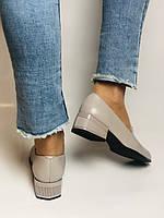 Molka. Жіночі туфлі -лофери з натуральної шкіри. Розмір 35,36,37,38,39,40.Vellena, фото 10