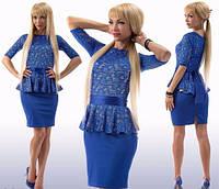 Платье-баска женское, фото 1
