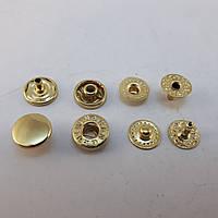 Кнопка Альфа 10мм Золото VT-2 (720шт.)