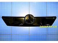 Зимняя заглушка решётки радиатора Mercedes Sprinter старая решётка верх 2000-2002 глянец Fly