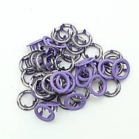 Кнопка BABY (трикотажная) 9,5мм  Фиолетовый (50шт.)