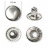 Кнопка Альфа 12,5 мм №54 Нікель (720шт.)