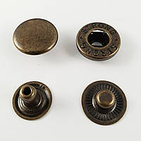 Кнопка Альфа 12,5 мм №54 Антик (720шт.)