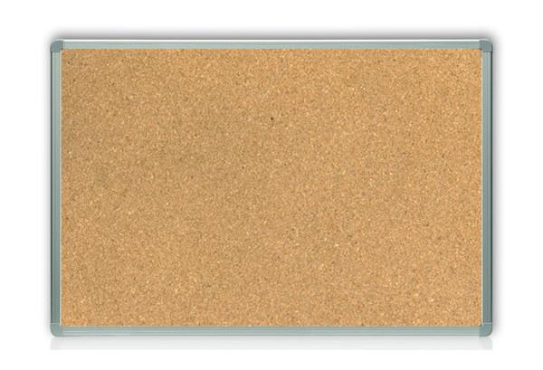 Дошка пробкова в аллюмінієвої рамці на картон. основі 60*100см