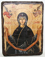 """Икона """"Святый Пояс Пресвятой Богородицы"""""""