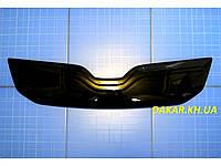 Зимняя заглушка решётки радиатора Skoda Oktavia A7 с 2013 глянцевая Fly. Утеплитель решётки Шкода Октавия А7