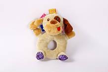 Мягкая игрушка погремушка Lindo F 1002 Песик, КОД: 1556683