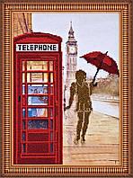 """Набор для вышивания бисером на художественном холсте """"Лондонские сюжеты-1"""""""