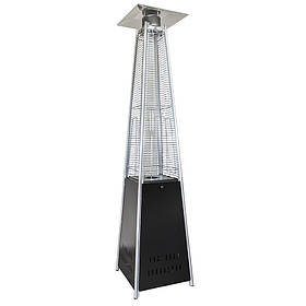 Уличный газовый обогреватель LS-815834 BK черный