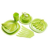 Набор туристической посуды GreenCamp на 6 персон GC-139/54G