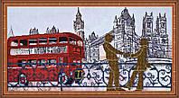 """Набор для вышивания бисером на художественном холсте """"Лондонские сюжеты-3"""""""