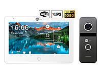 Комплект відеодомофона NeoLight Mezzo HD WiFi / Solo FHD Graphite