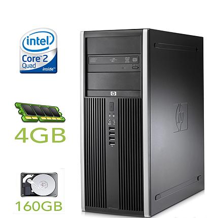 HP Compaq dc7900 MT / Intel Core 2 Quad Q9400 (4 ядра по 2.66GHz) / 4GB RAM / 160GB HDD / VGA+DP+DMS-59, фото 2