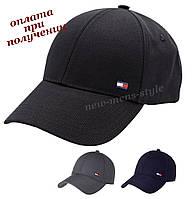 Мужская фирменная молодежная модная стильная спортивная кепка бейсболка блайзер Tommy Hilfiger