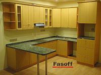 Кухня на заказ Киев МДФ пленочный Ольха , фото 1