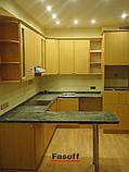 Кухня на заказ Киев МДФ пленочный Ольха , фото 2