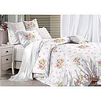 Комплект постельного белья полуторный Вилюта Сатин Twill 302