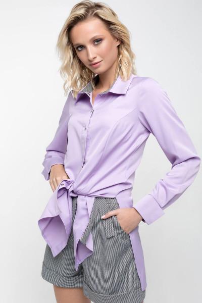 Сорочка Evdress XL світло-бузковий