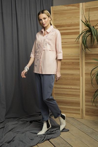 Рубашка Evdress S персиковый