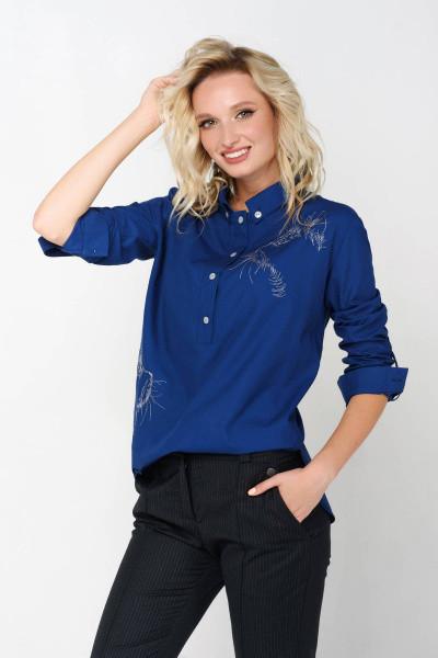 Сорочка Evdress S синій