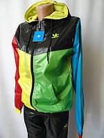 Женские спортивные костюмы разноцветные с капюшоном. Арт. 29105, фото 1
