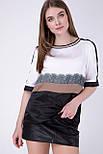 Блуза Evdress M бежевий, фото 2
