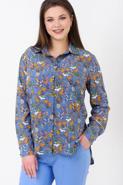 Рубашка Evdress XL синий