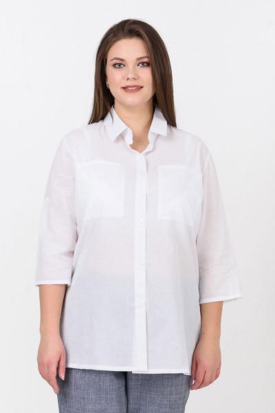 Сорочка Evdress 4XL білий