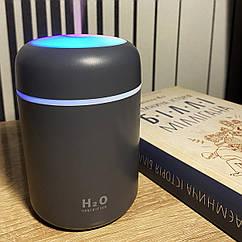 Зволожувач повітря міні Adna Humidifier DQ107 дифузор компактний,мийка повітря з підсвічуванням веселкою.