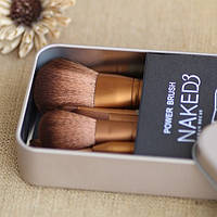 Кисти для макияжа NAKED3 12 шт