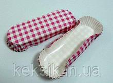 Тарталетки для Эклеров 30шт розовые