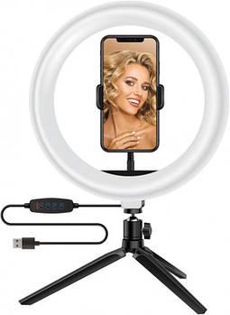 Кольцевая USB LED-лампа ACCLAB Ring of Light AL-LR101 (1283126502033)