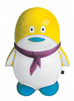 Ночник детский желтый (светильник ночник черный) пингвин  4LED,Watc