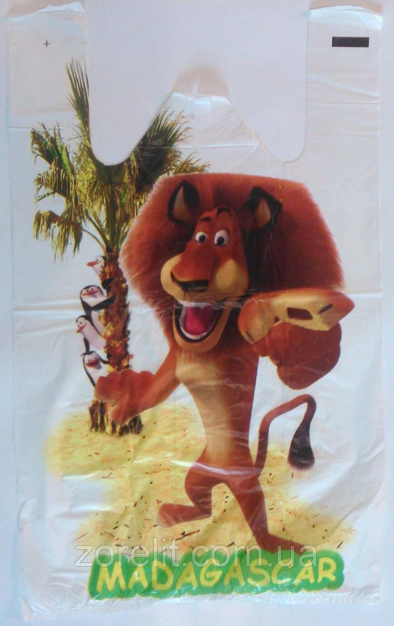 Пакет майка Мадагаскар 30*250шт 52