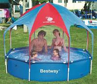 Каркасные ( сборно-разборные) бассейны Bestway Splash-in-Shade Play Pool 56193\56432, 244х51 см., фото 1