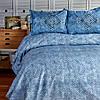 Пододеяльник с наволочками Sarah Anderson - Lanika mavi голубой 200*220, фото 2