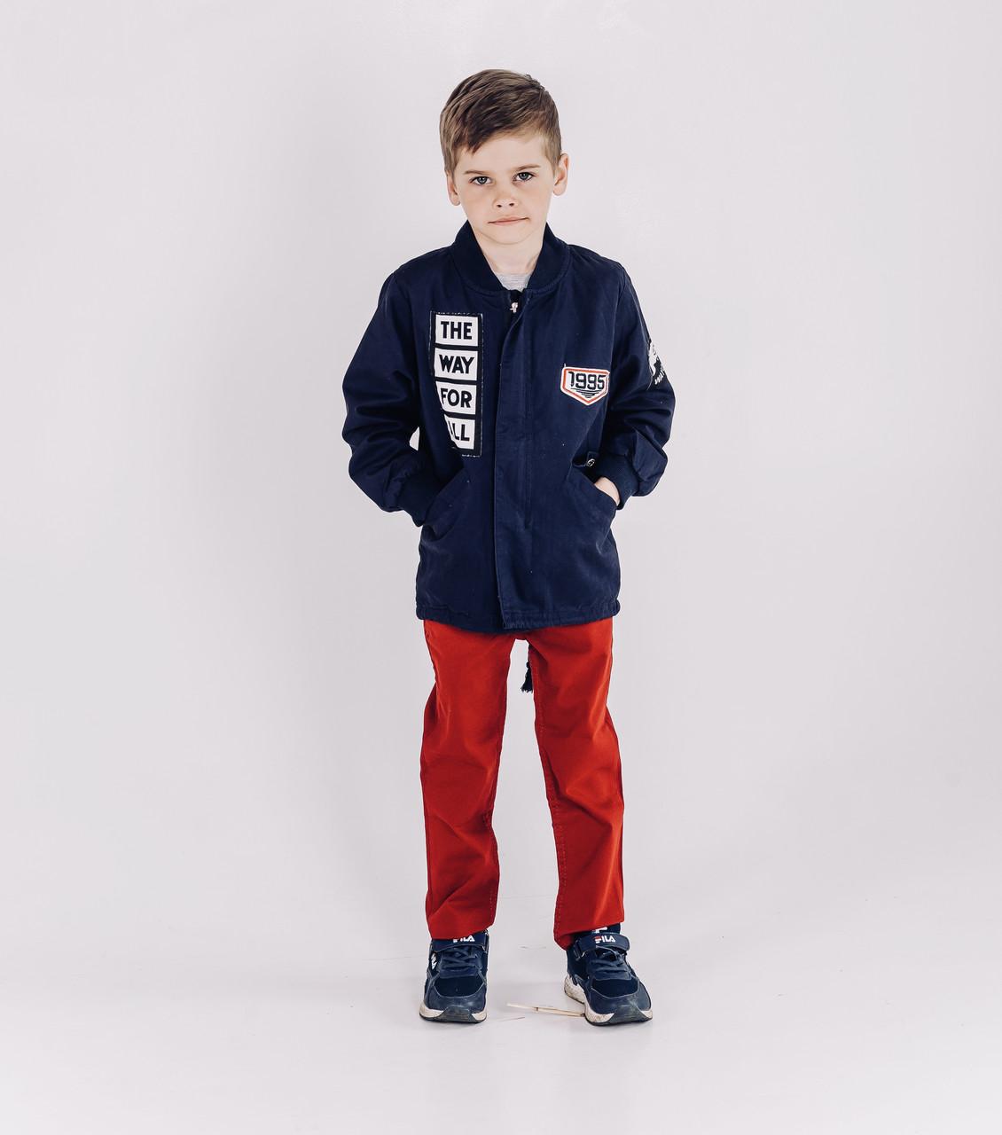 Весенняя куртка парка, ветровка для мальчика