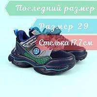 Дитячі сині кросівки для хлопчика тм Tom.M розмір 29, фото 1