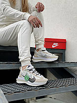"Кроссовки Nike Sacai ""Бежевые"", фото 3"