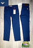 Синие брюки джинсы Armani для мальчика 3,4,5 лет, фото 4