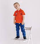 Синие брюки джинсы Armani для мальчика 3,4,5 лет, фото 3