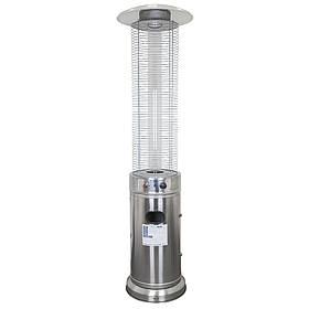 Уличный газовый обогреватель LS-815836 SS хром