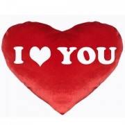 Подушка сердце I love you