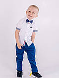 Синие брюки Polo для мальчика, фото 2