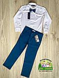 Синие брюки Polo для мальчика, фото 7