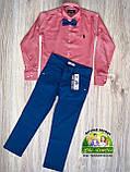 Синие брюки Polo для мальчика, фото 4