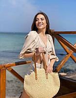 Женская брендовая пляжная сумка