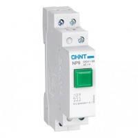 Кнопка без індикації NP9-12/1 Зелений 1NO+2NC