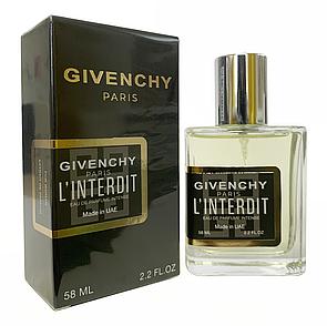 Givenchy L'Interdit Eau de Parfum Intense Perfume Newly женский, 58 мл